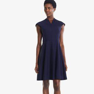 MM Lafleur The Ruth Dress Deep Indigo Size 0 NWT